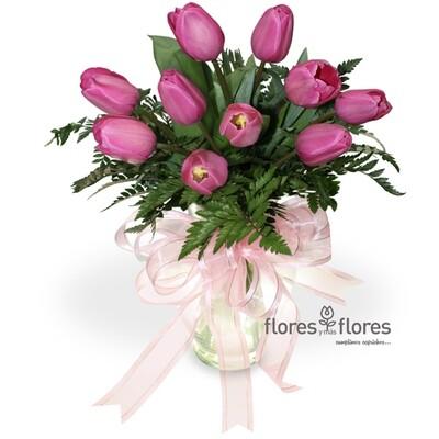 Arreglo Floral de Tulipanes | AMANECER