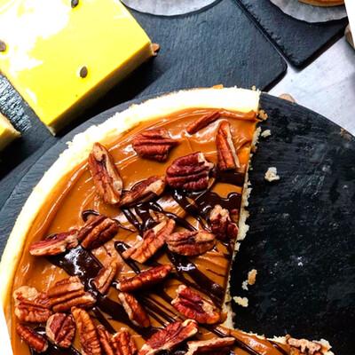 Cheesecake con queso y nueces I  MILK SINGLE