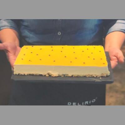 Delicioso cheesecake I  MARACUYA SINGLE