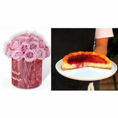 Happy flower cake I  CHEESE
