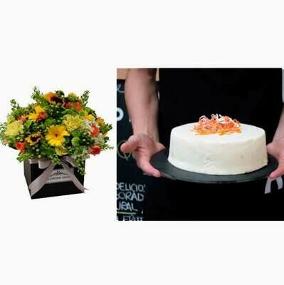 Happy Flower Cake  I  CARROT