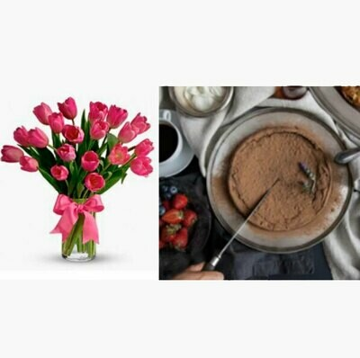 Happy Flower Cake  I  CHOCOLAT