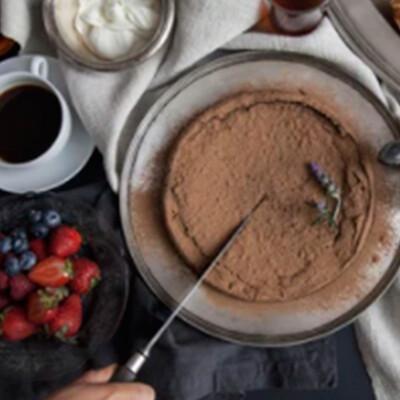 Pastel de cacao libre de gluten  I  CHOCOLAT SINGLE