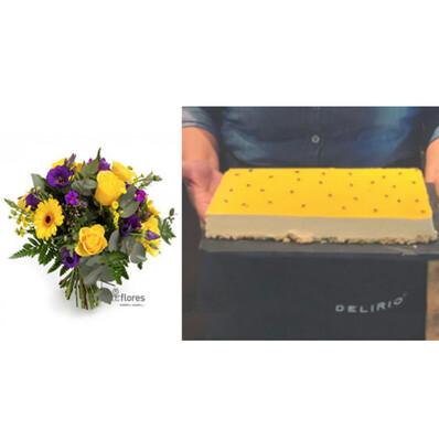 Happy Flower Cake  I  MARACUYA