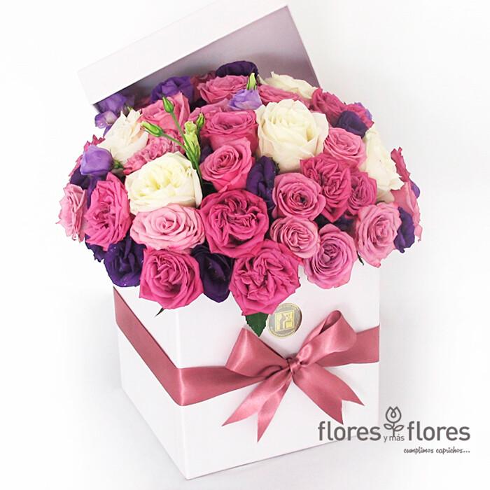 Bouquet Rosas Multicolor   CAPRICHO