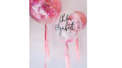 Composición personalizada de globos    PARTY