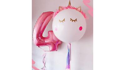 Tierno bouquet de globos para cumpleaños   CURSY