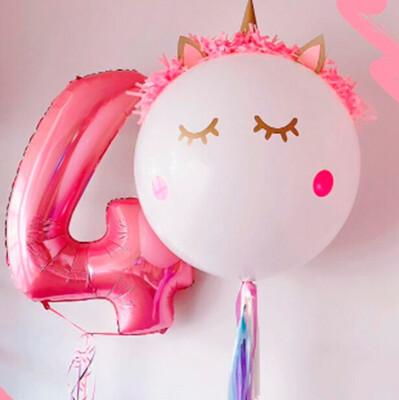 Tierno bouquet de globos para cumpleaños | CURSY