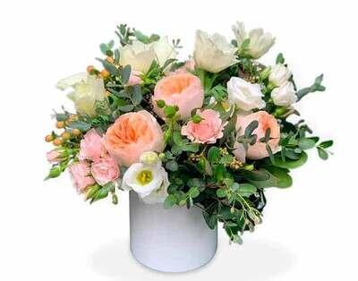 Arreglo de Rosas Inglesas Premium | PAVIA