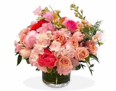 Rosas con tulipanes  |  POSITANO