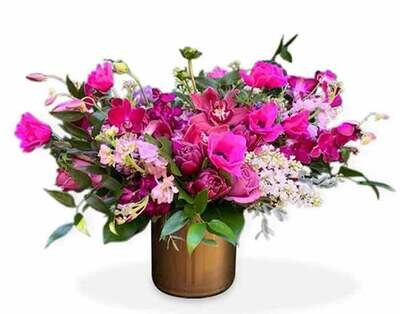 Rosas, Lisianthus y Orquídeas  | MILAN
