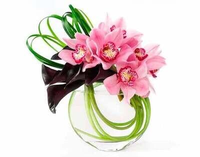 Composición de Callas y Orquídeas |  TURIN