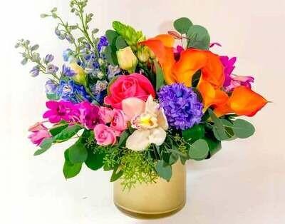 Coloridas Hortensias, Orquídeas y Callas |  VENECIA