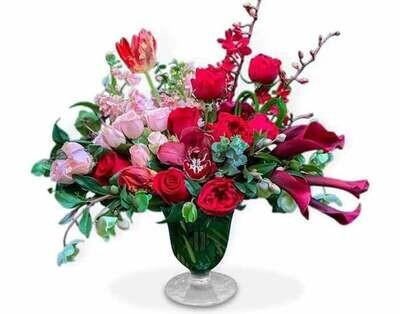 Orquídea, Callas, Tulipanes y Rosas  |  TIVOLI