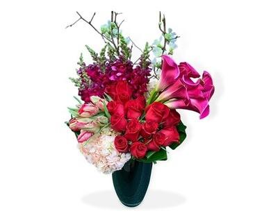Callas, Orquídeas, Hortensia y Tulipanes  |  TRAMONTI