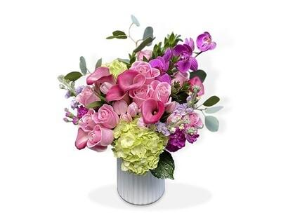 Callas, Rosas, Hortensias y Orquídeas  I SORRENTO
