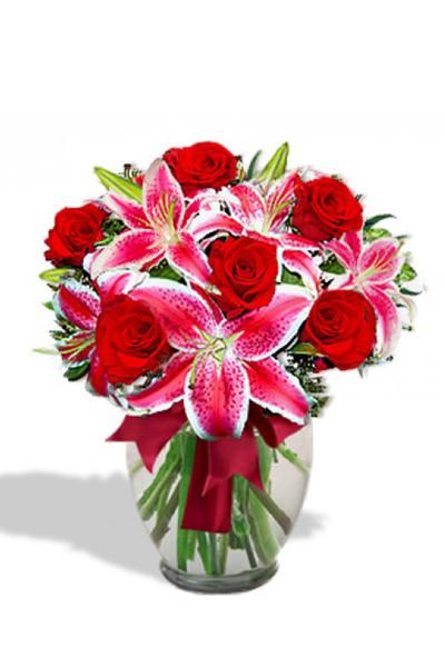 Arreglo Floral de Rosas    EMOCION