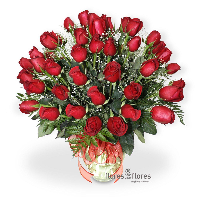 Arreglo Floral de 24 Rosas rojas o col rosa   AMORE
