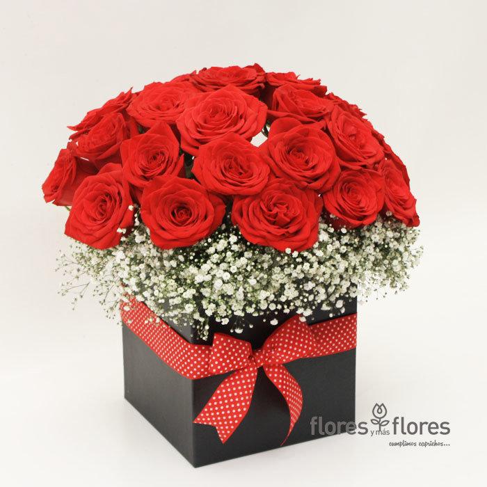 Caja Rosas Rojas | RED NIGHT
