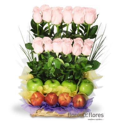 ENERGIA | Deliciosas Frutas con Rosas