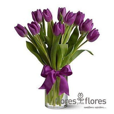Bouquet de 10 Tulipanes | AMOUR
