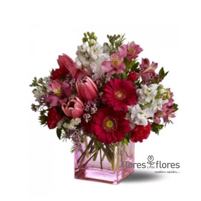 Bouquet de Tulipanes y Gerberas    PECULIAR