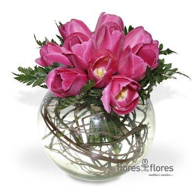 Arreglo Floral de 10 Tulipanes  | DESTINO