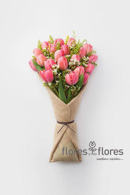 Ramo de Tulipanes Rosas    SELECTO