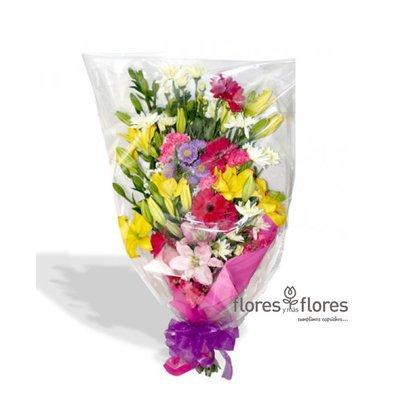 Ramo de Flores Mixtas multicolor       AGRADO