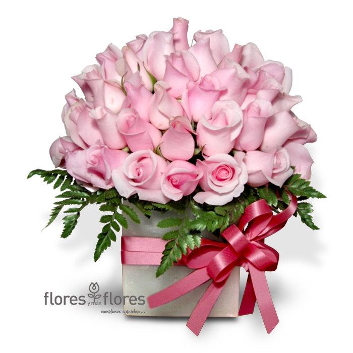 Rosas en Base de Cera    TENAZ