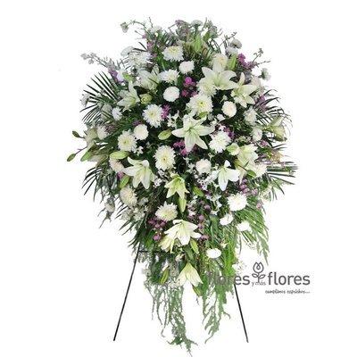 Arreglo Floral Fúnebre | INOLVIDABLE