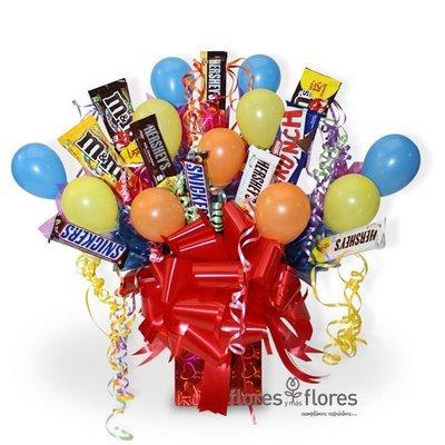 Candy Bouquet con Chocolates  | SABROSISIMO