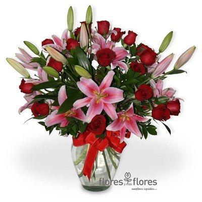 Arreglo floral de rosas a domicilio | POESIA