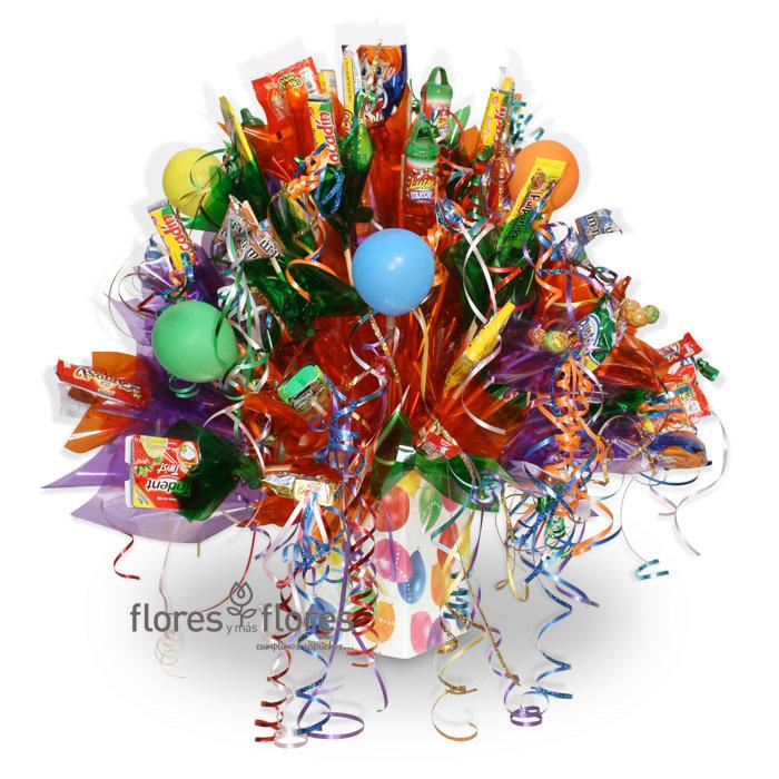 Bouquet de 65 Dulces   EXUBERANTE