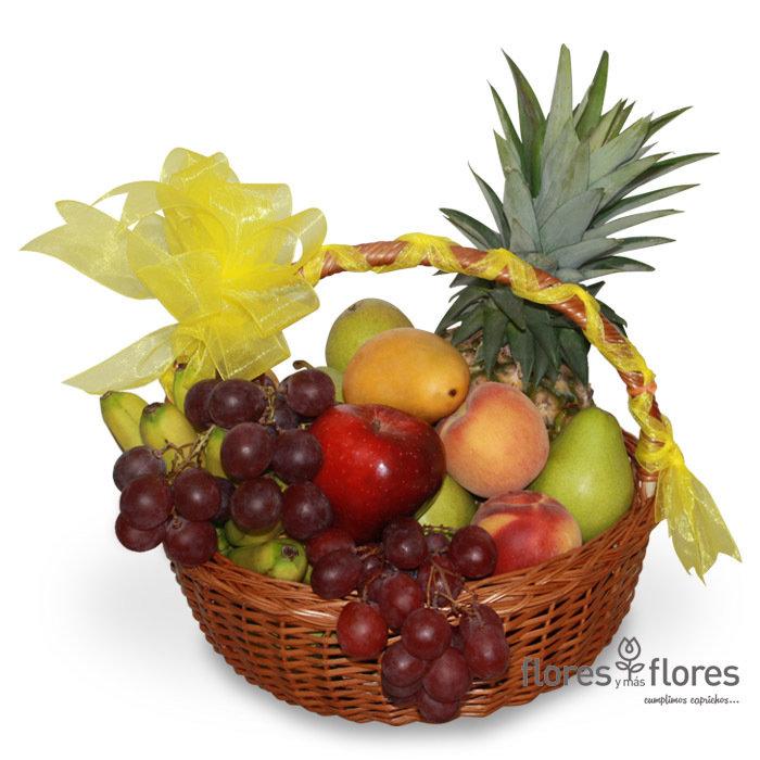 Canasta de Ricas Frutas   AMISTAD
