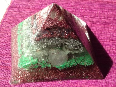LARGE Orgone Pyramid - Relaxation and Sleep