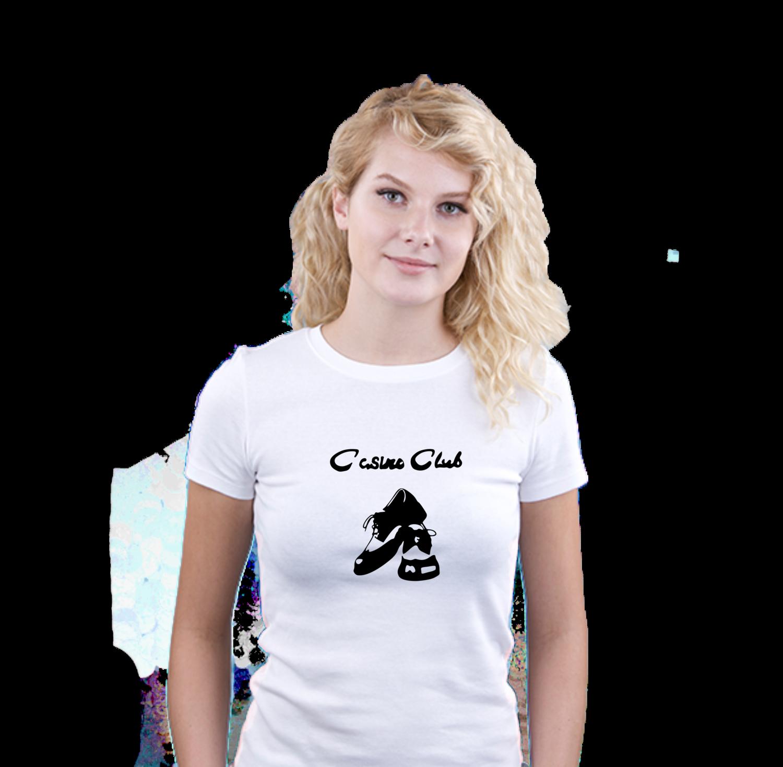 Ladies T-Shirt - N/Soul Shoe Casino Club