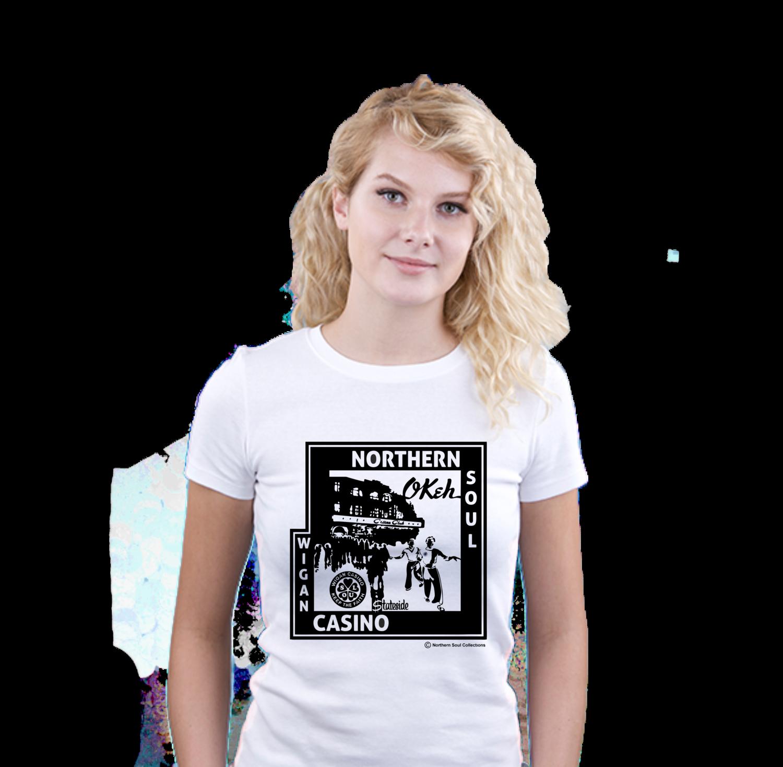 Ladies T-Shirt - N/Soul Casino Club