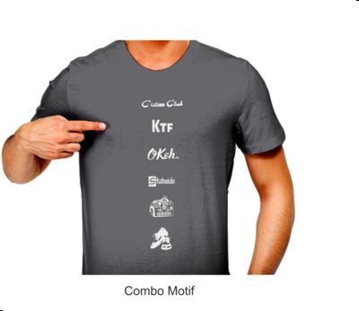 T.Shirt N/Sour Logo Strip