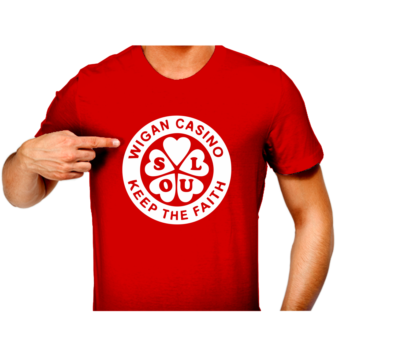 T-Shirt - N/Soul Wigan Clover