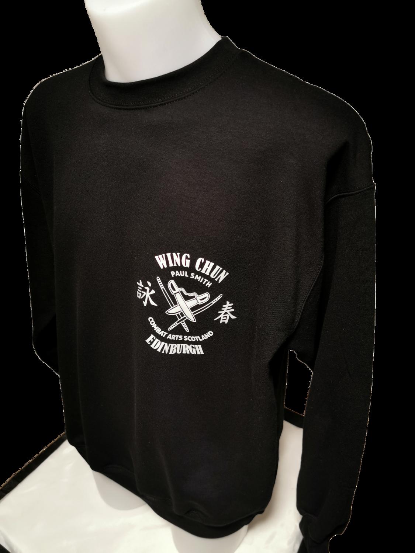 Sweatshirt - Combat Arts Scotland - Black - Wing Chun