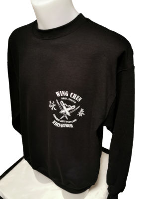 Sweatshirt - Combat Arts Scotland - Black - Wing Chun