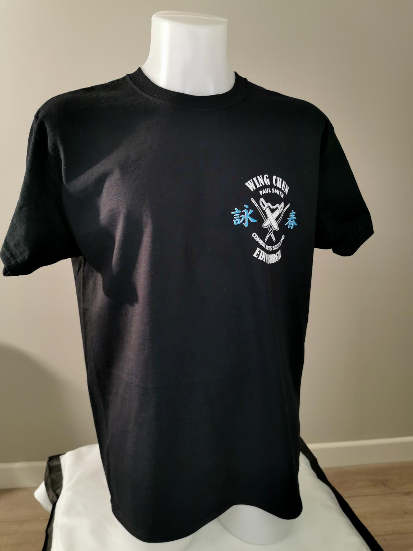 MENS T.Shirt - 2 Colour - Combat Arts Scotland - Black - Wing Chun