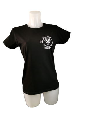 LADIES T.Shirt - Combat Arts Scotland - Black - Wing Chun