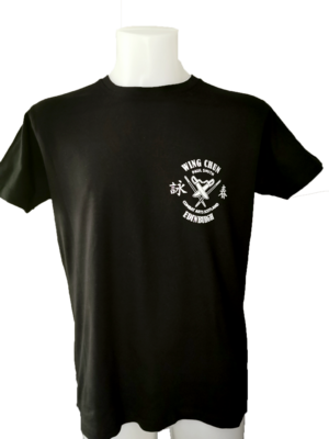 MENS T.Shirt - Combat Arts Scotland - Black - Wing Chun