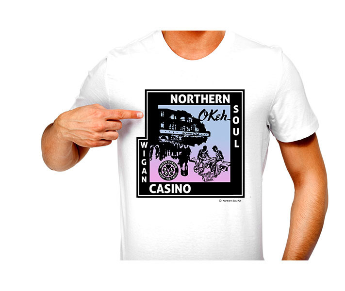 T-Shirt - N/Soul - Casino Club - Record Deal