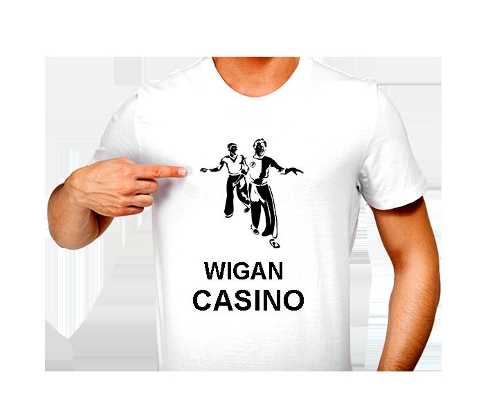 T-Shirt - N/Soul Two Boys Wigan Casino