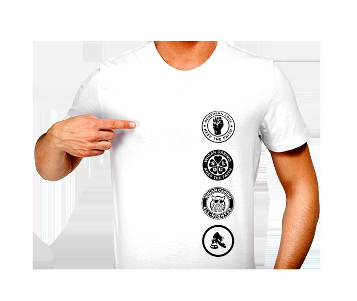 T-Shirt - N/Soul - Patch Strip