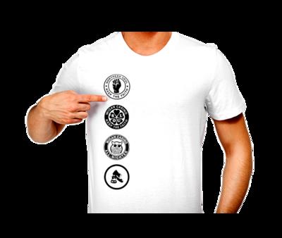 T-Shirt - N/Soul 4 Patch Combo