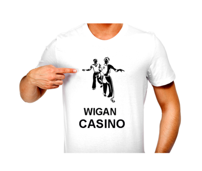 T-Shirt - N/Soul Two Boys Wigan Casino